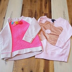 Cute 2T sweatshirts